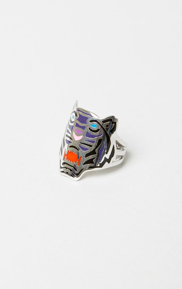 Colored Tiger ring