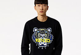 Men Tiger Sweatshirts
