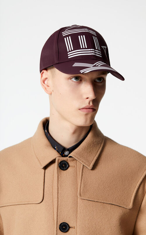 BORDEAUX KENZO Logo Cap for men