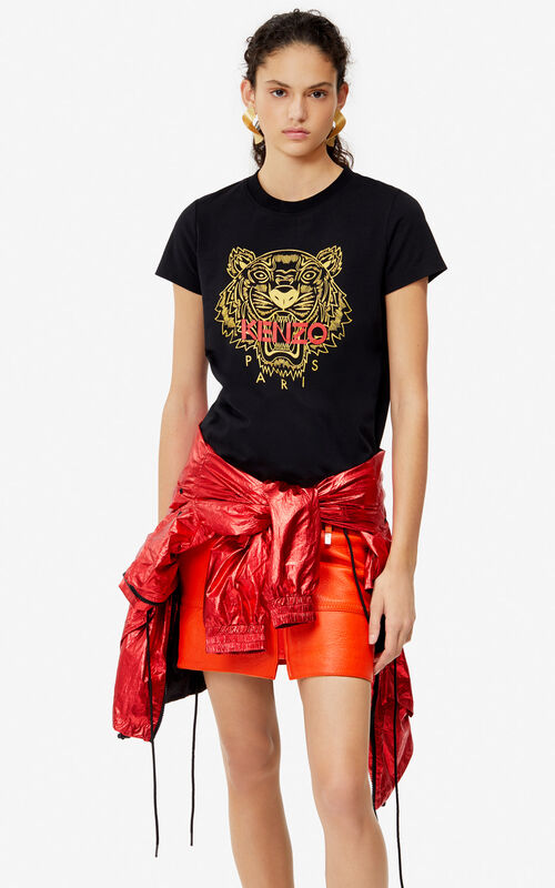 BLACK Tiger t-shirt 'Exclusive Capsule' for women KENZO