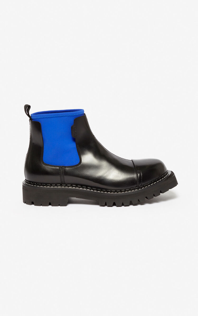 FRENCH BLUE Kamden boots for men KENZO