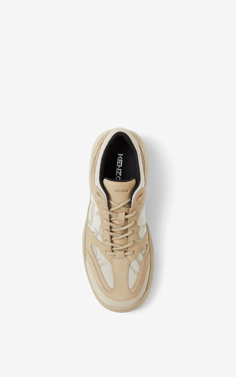 TAUPE KENZO Work sneakers for men