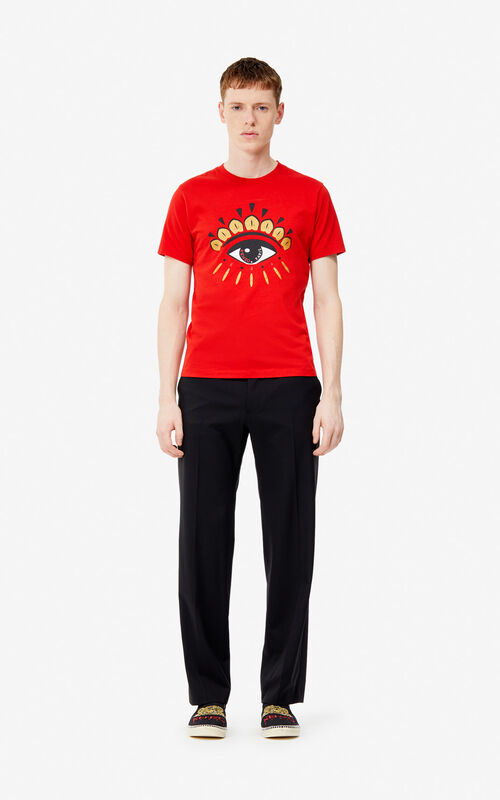 VERMILLION Eye t-shirt for men KENZO