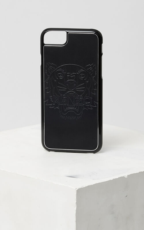 Tiger iPhone 7+ case, BLACK, KENZO