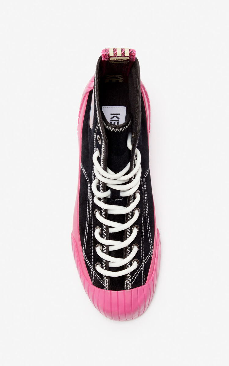 BEGONIA High-top Volkano trainers for unisex KENZO