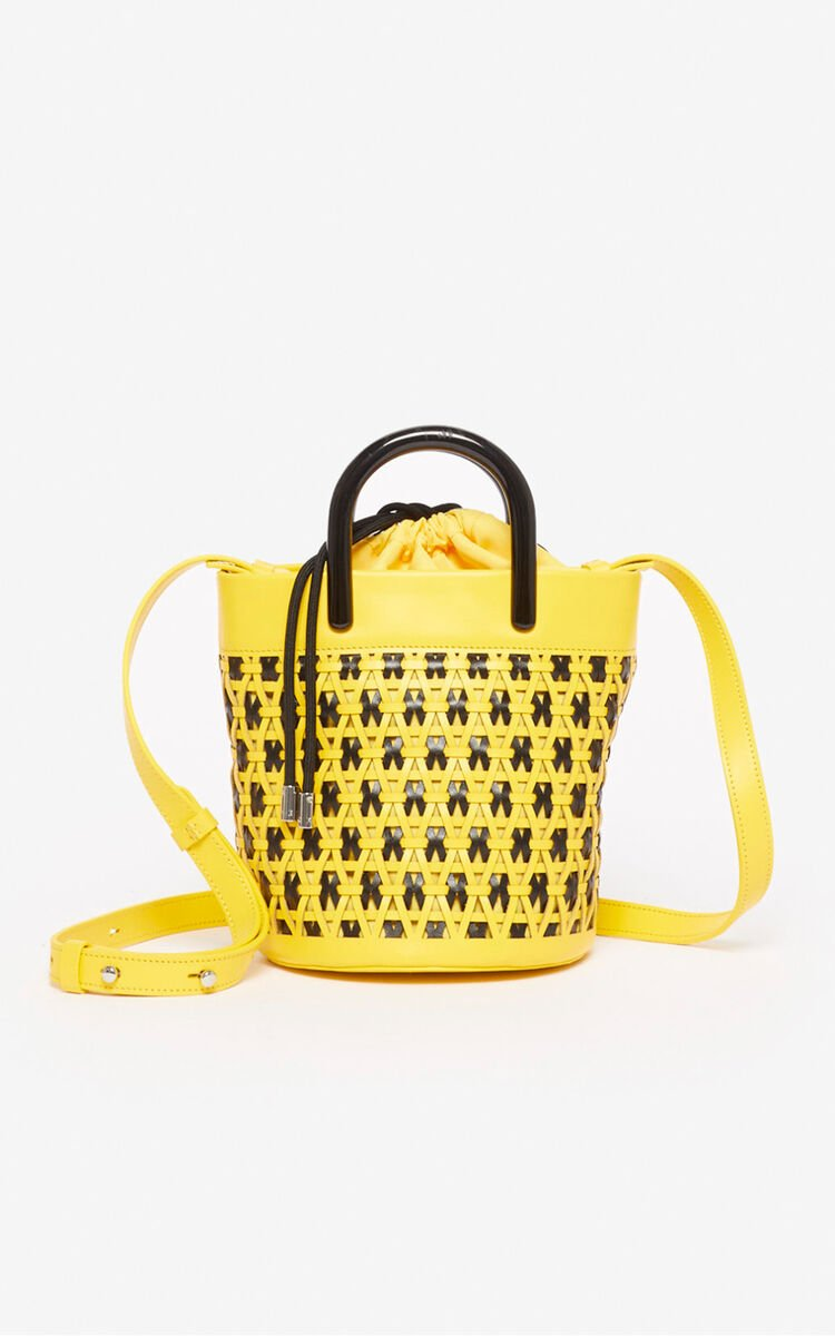 LEMON 'Shrimps' mini tote bag for unisex KENZO