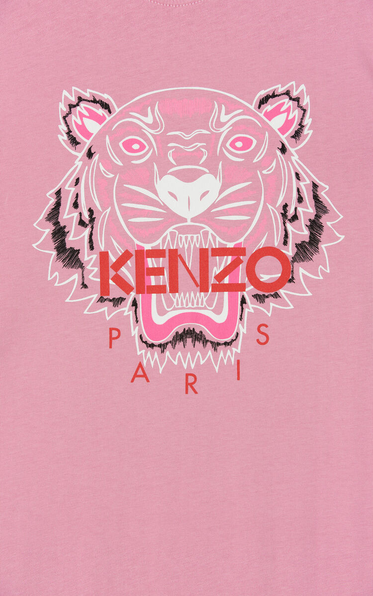 BEGONIA 'Bleached Tiger' t-shirt dress for women KENZO