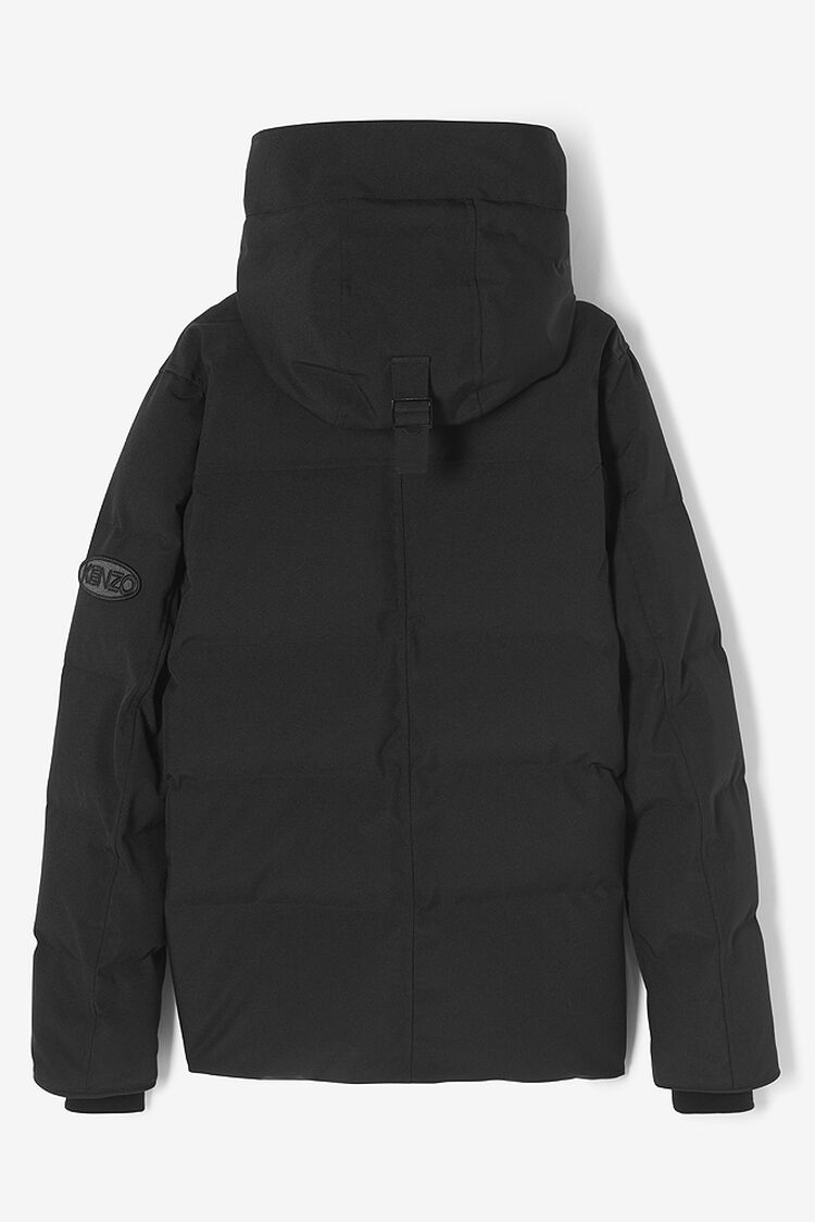 BLACK Quilted Puffa Jacket for men KENZO