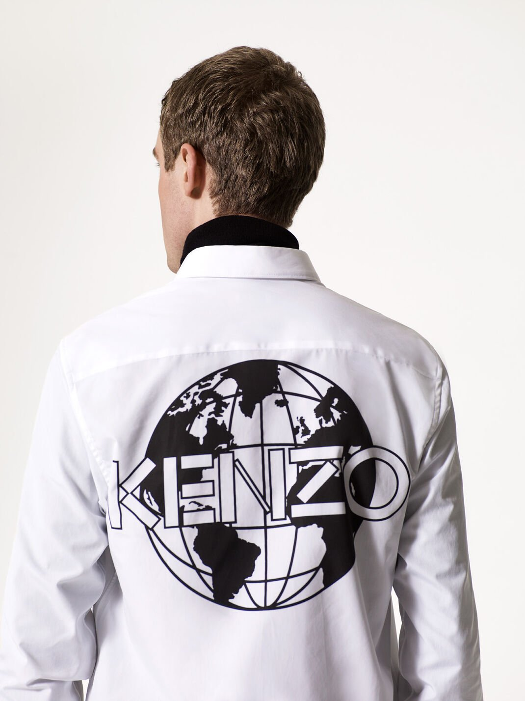 WHITE 'KENZO World' Shirt for men