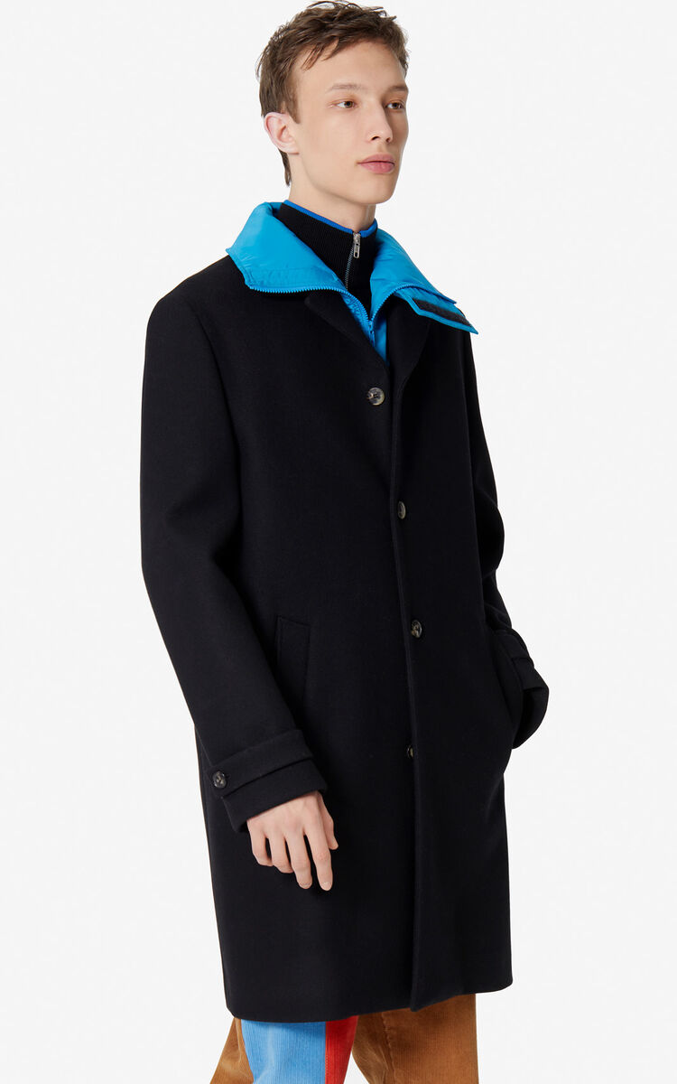 BLACK 2-in-1 coat for men KENZO