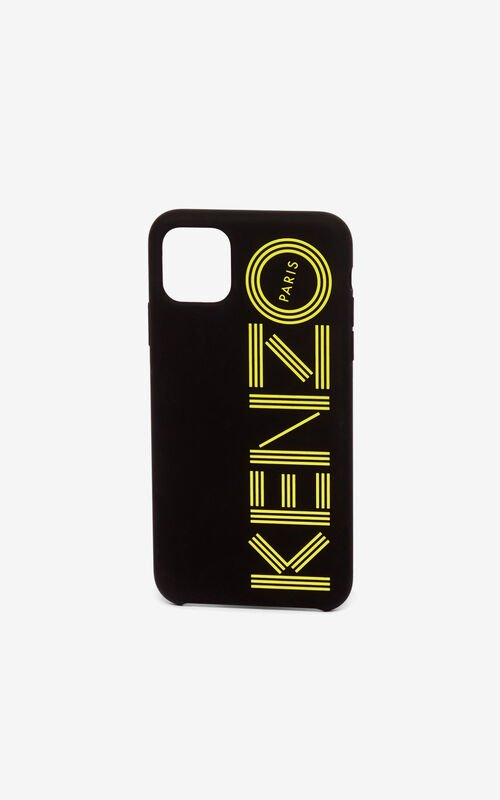 GOLDEN YELLOW KENZO logo iPhone XI Pro max case for unisex