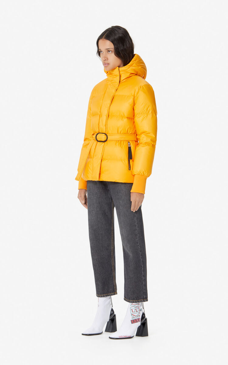 MARIGOLD Quilted puffer jacket for women KENZO