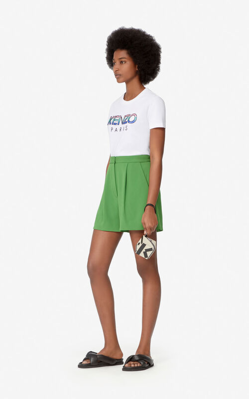 WHITE KENZO Paris t-shirt for women