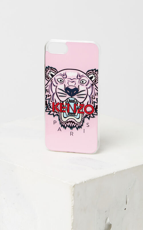 FADED PINK Tiger iPhone 8 case for unisex KENZO