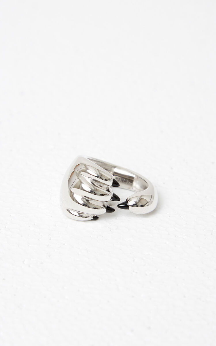 SILVER Tiger Paw Ring for global.none KENZO