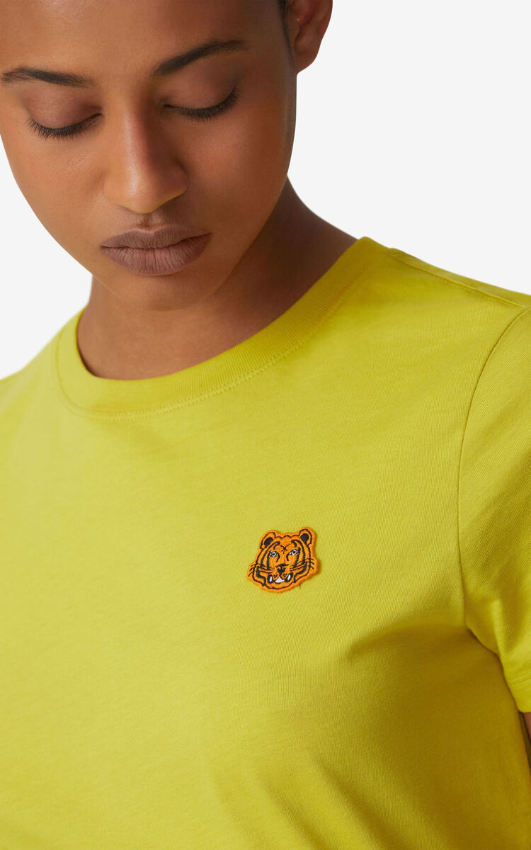 LIME Tiger Crest T-shirt for women KENZO
