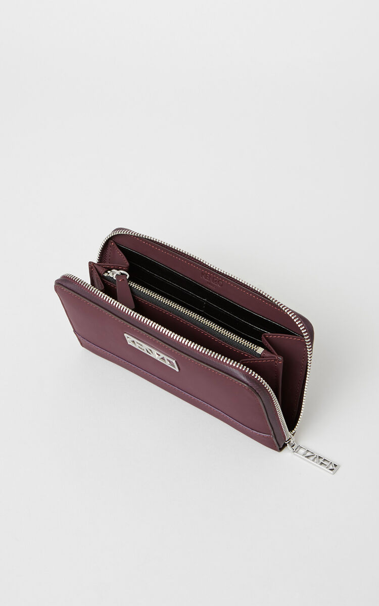 PRUNE Kalifornia continental wallet for women KENZO
