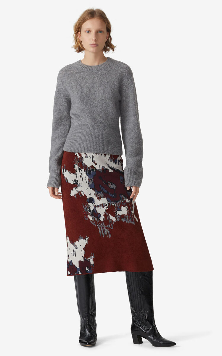 DOVE GREY Recycled cashmere jumper for women KENZO