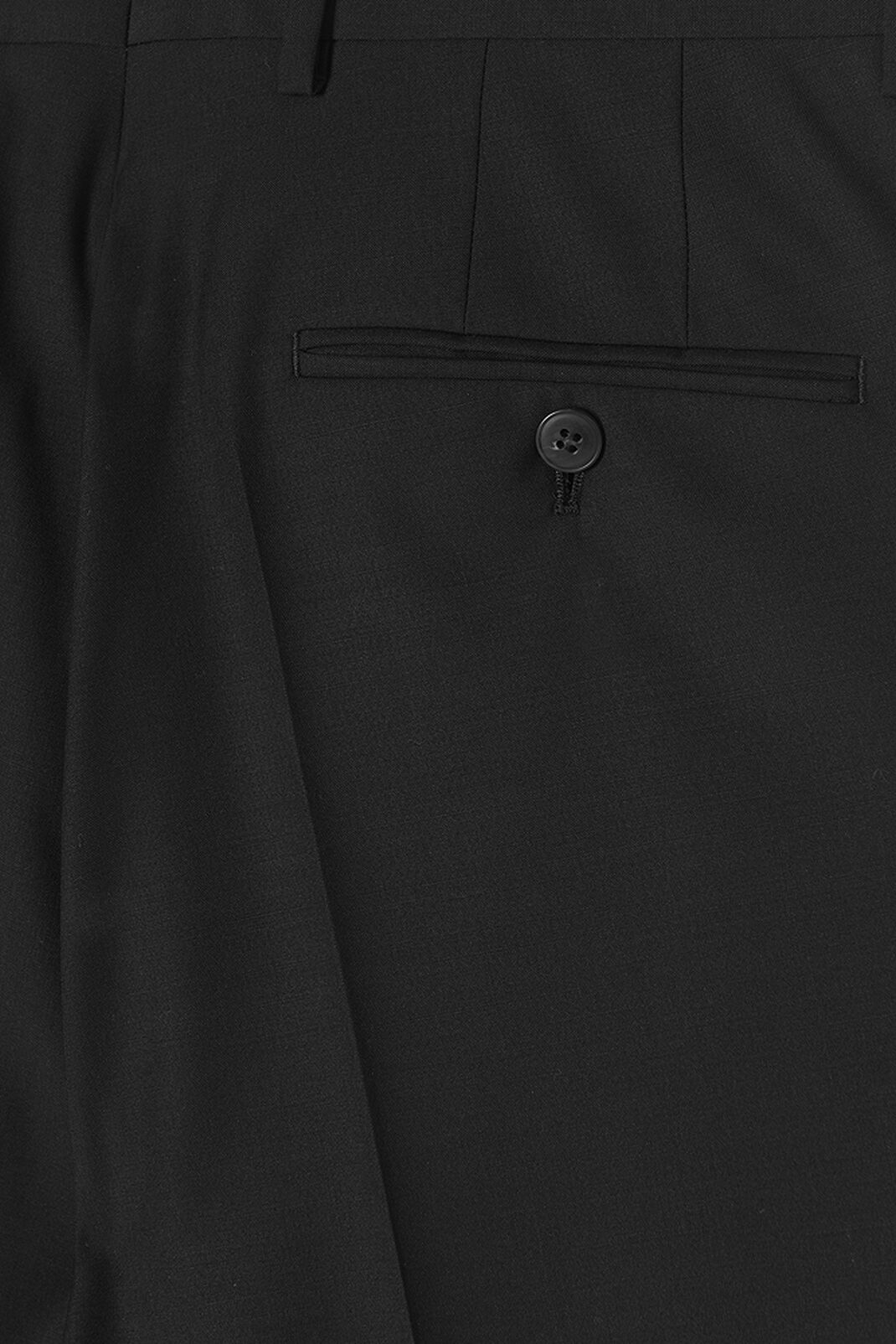 BLACK Wrinkle Free Trousers for men KENZO