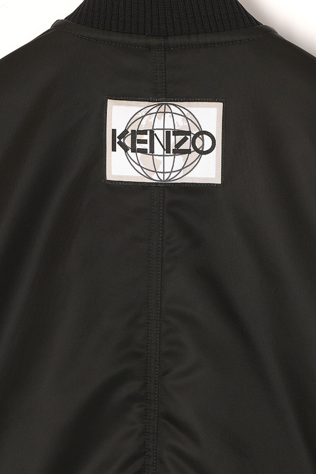 BLACK Long Bomber for women KENZO