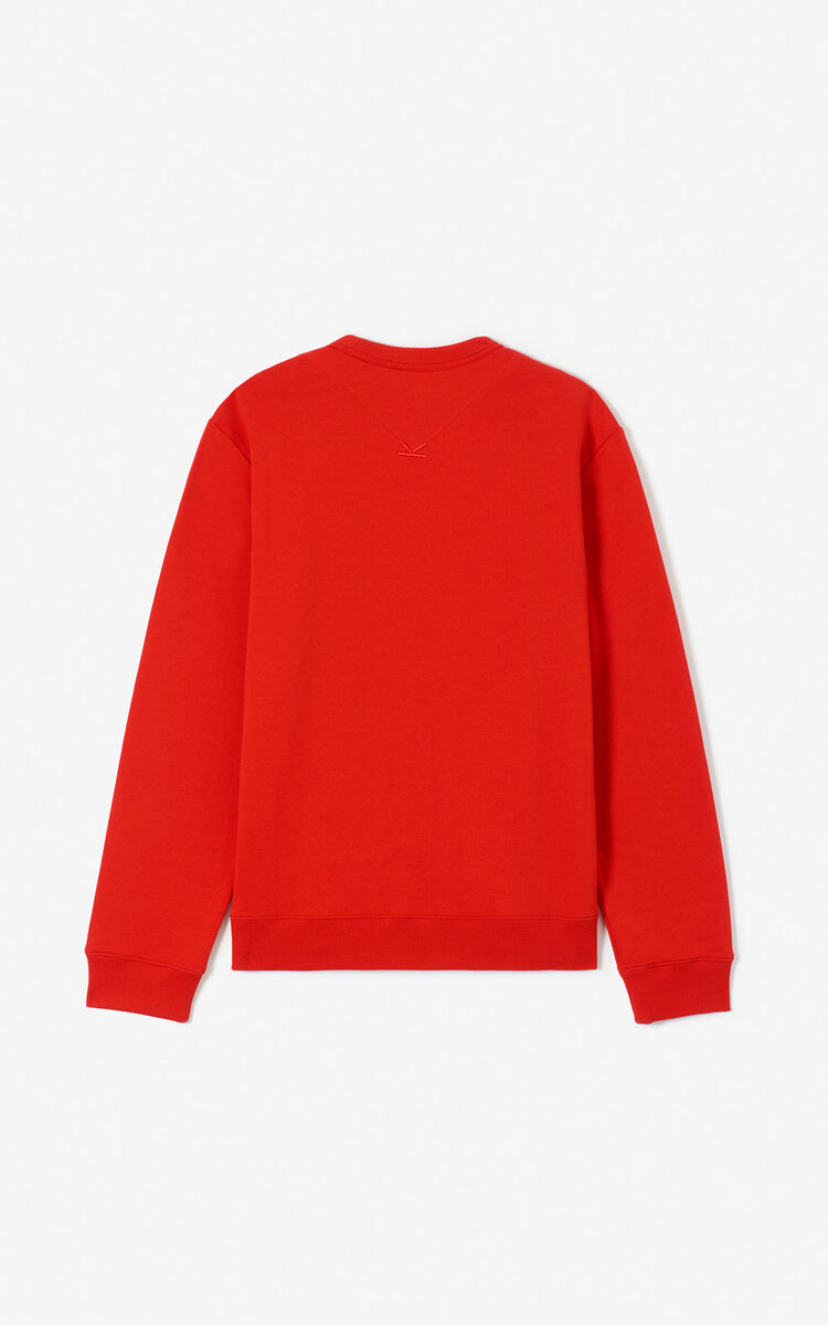 VERMILLION Tiger sweatshirt for men KENZO