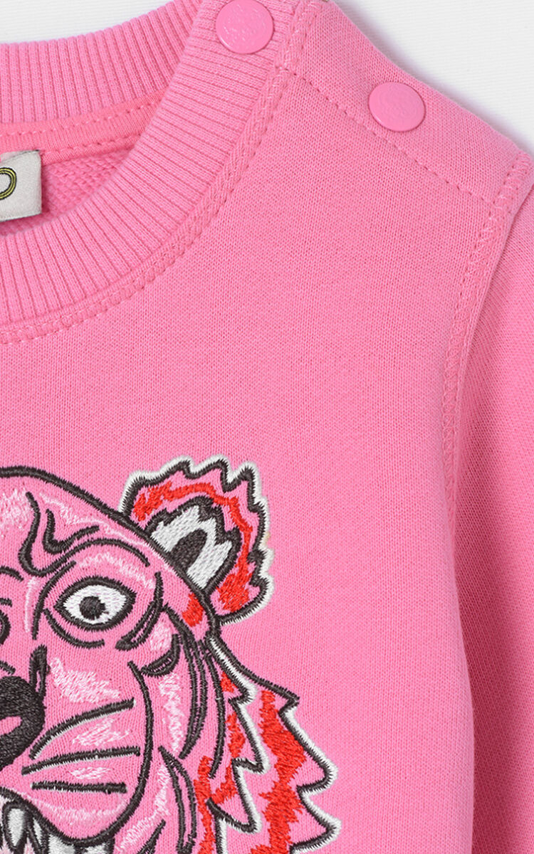 ROSE Tiger Sweatshirt for men KENZO