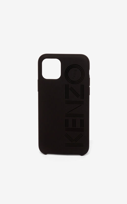 BLACK KENZO logo iPhone XI Pro case for unisex