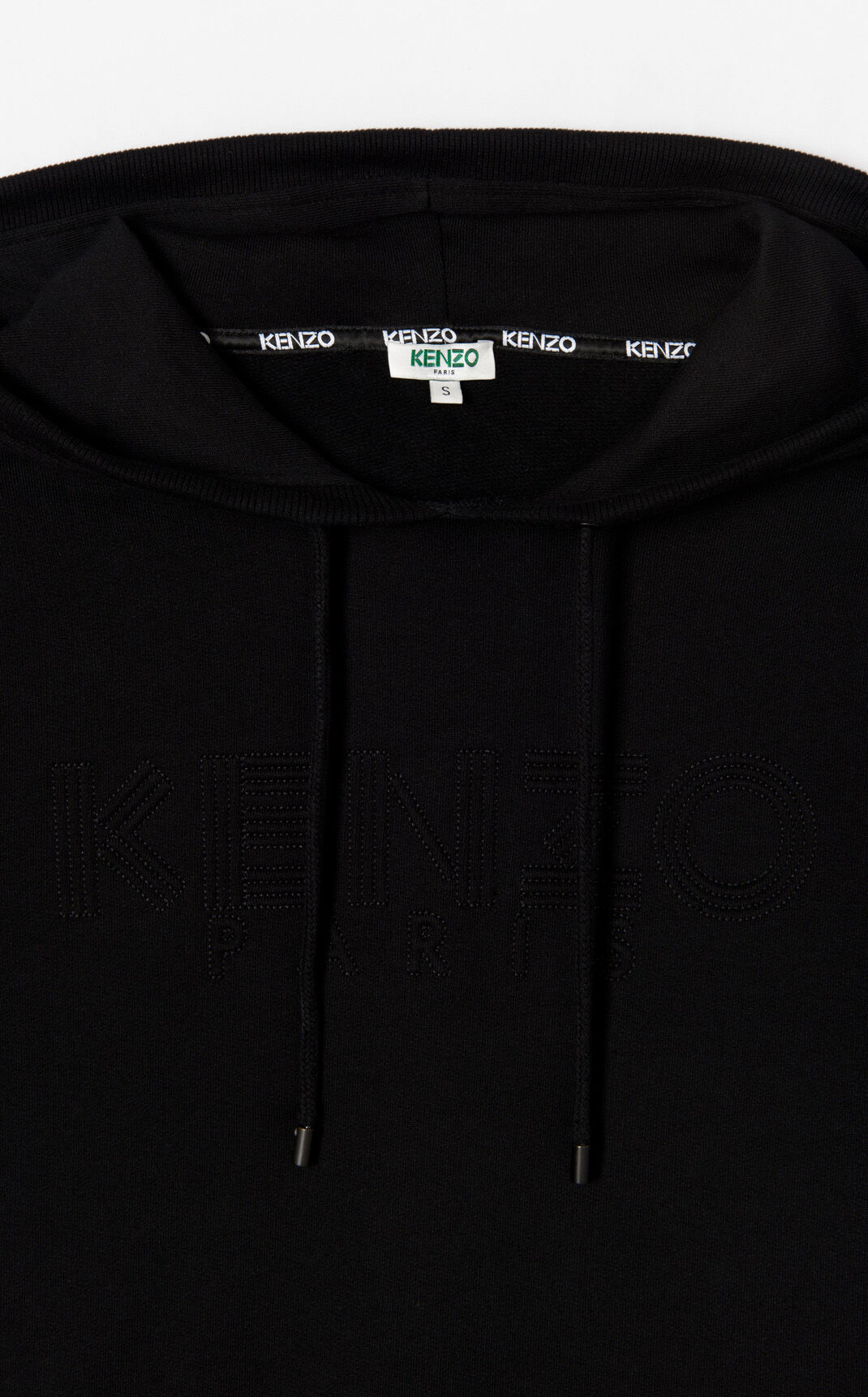 BLACK Sweatshirt dress KENZO Paris for women