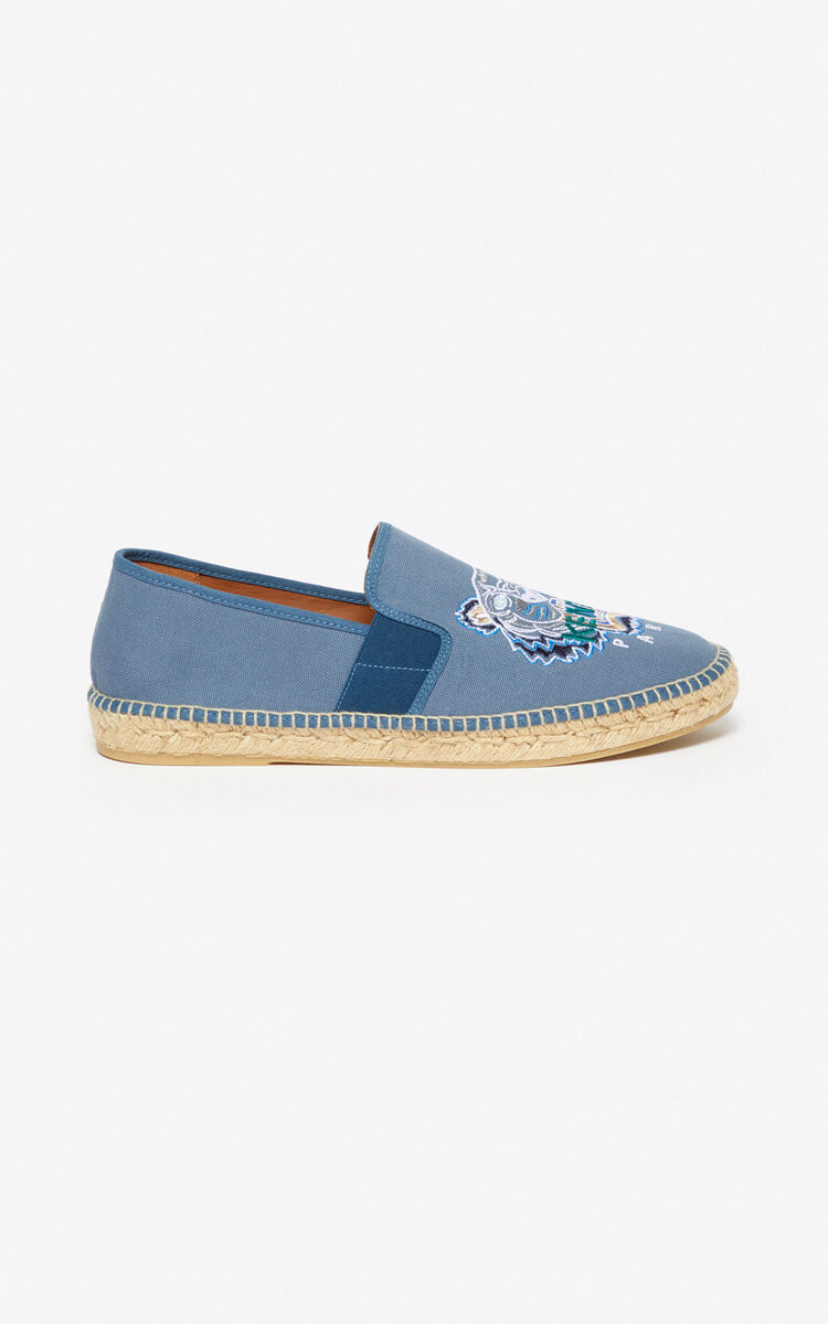DOVE GREY Tiger espadrilles for women KENZO
