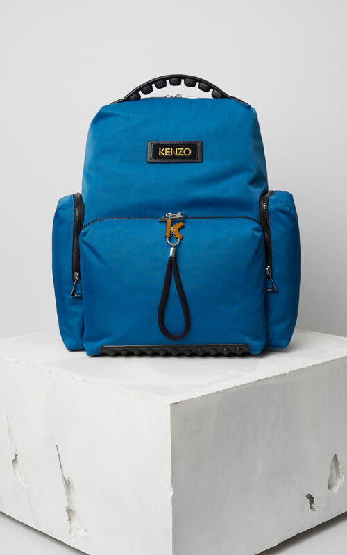DUCK BLUE Tarmac Backpack for unisex KENZO