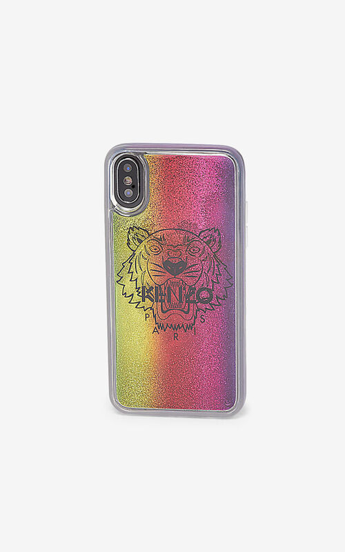MULTICOLOR iPhone X/XS Tiger case for unisex KENZO