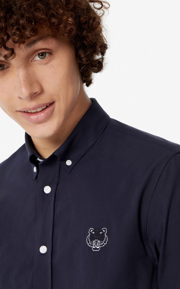 INK Casual Tiger shirt for men KENZO