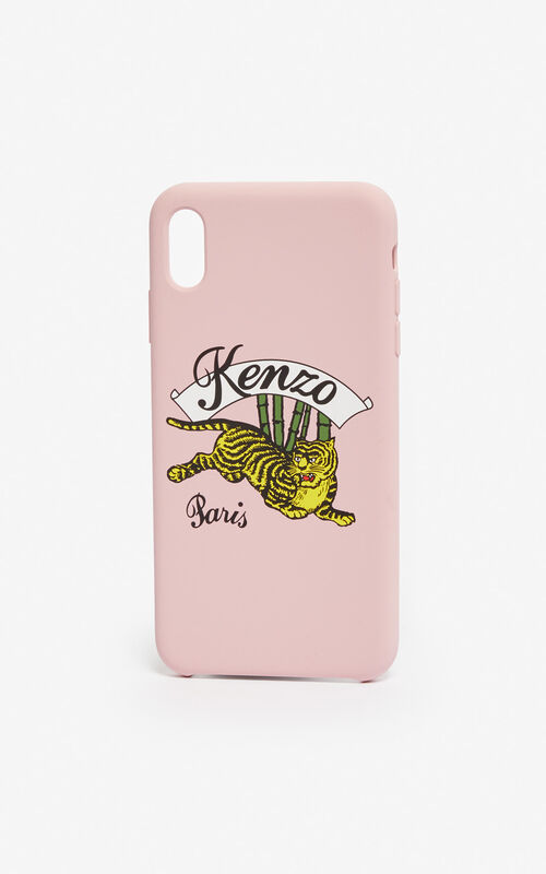 0b3bad56 PASTEL PINK iPhone X/XS 'Jumping Tiger' case for unisex KENZO ...