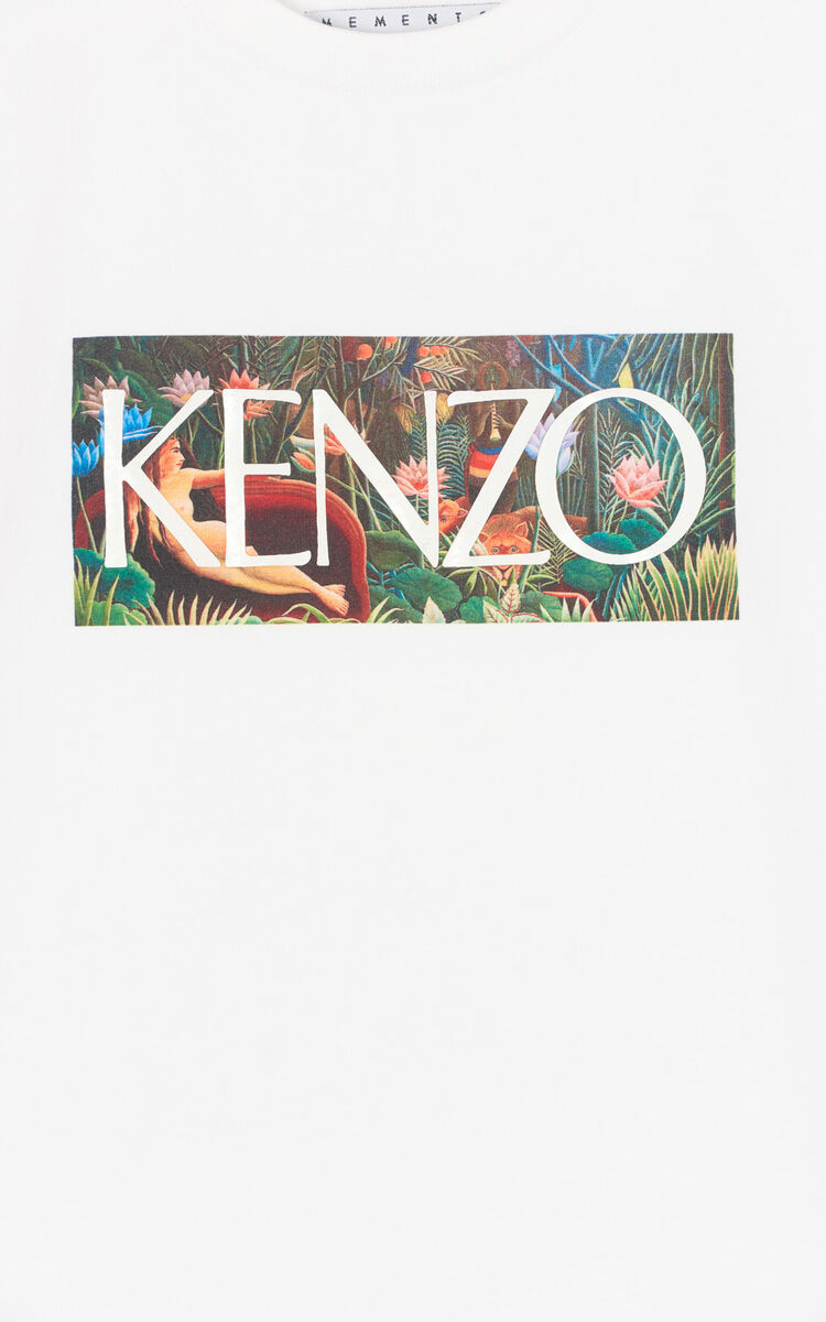 WHITE KENZO T-shirt for women