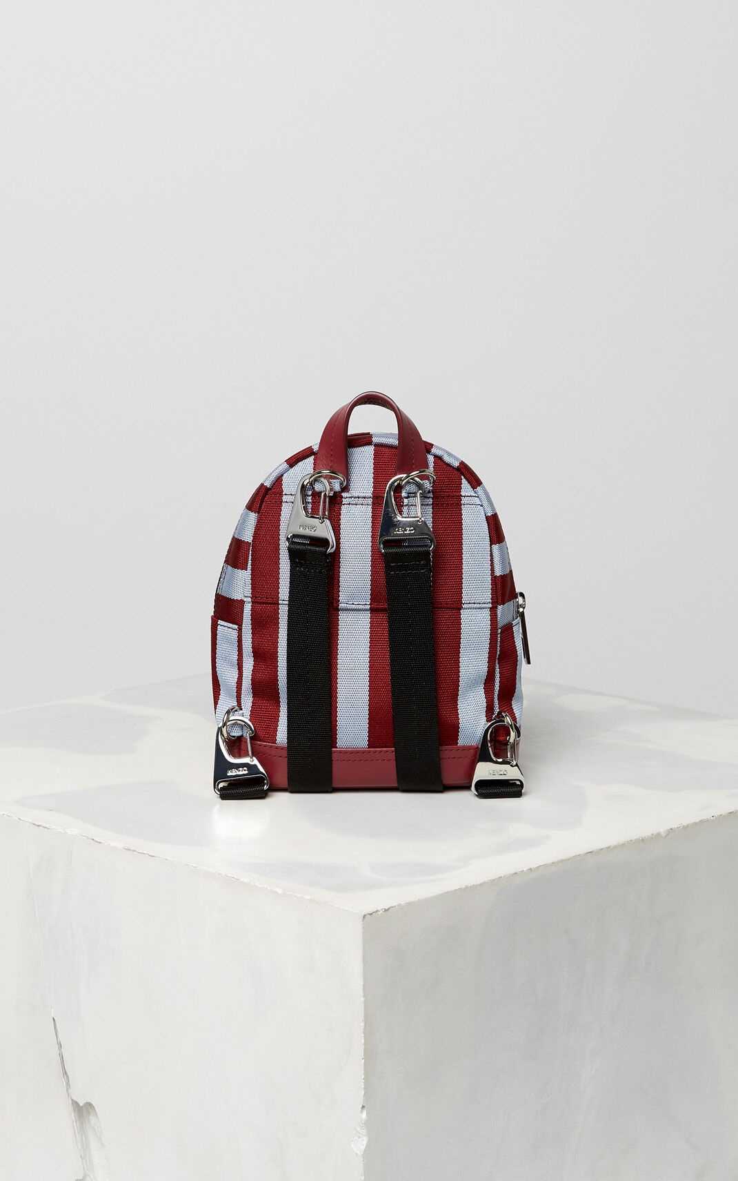 BORDEAUX Mini striped Tiger Backpack for women KENZO