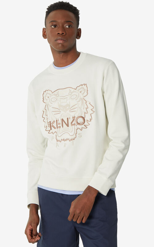 OFF WHITE Tiger 'High Summer Capsule Collection' sweatshirt for men KENZO