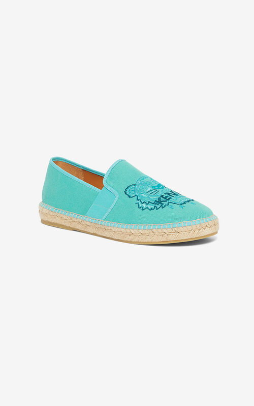 MINT 'High Summer Capsule Collection' Tiger espadrilles for unisex KENZO