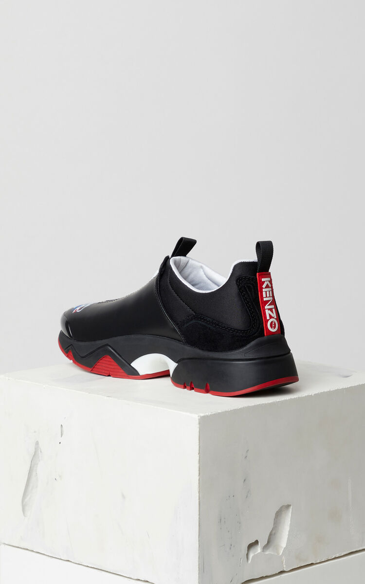 BLACK Sonic 'Dragon' sneakers for women KENZO