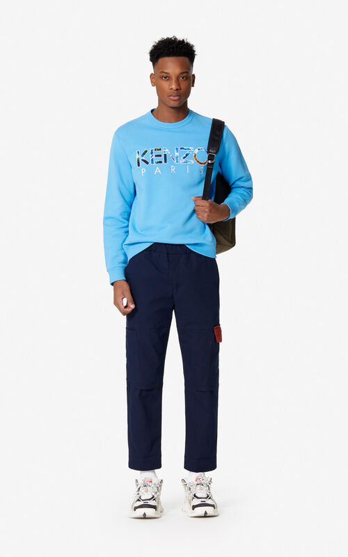 CYAN 'KENZO World' KENZO Paris sweatshirt for men