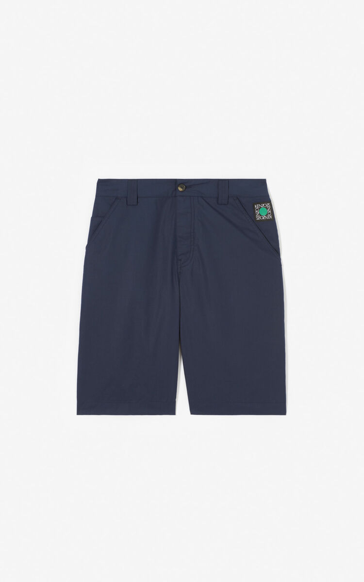 MIDNIGHT BLUE Shorts for women KENZO