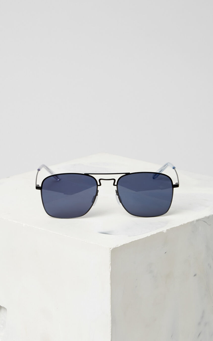 BLACK Flat Lens 'Kuba' Sunglasses for unisex KENZO