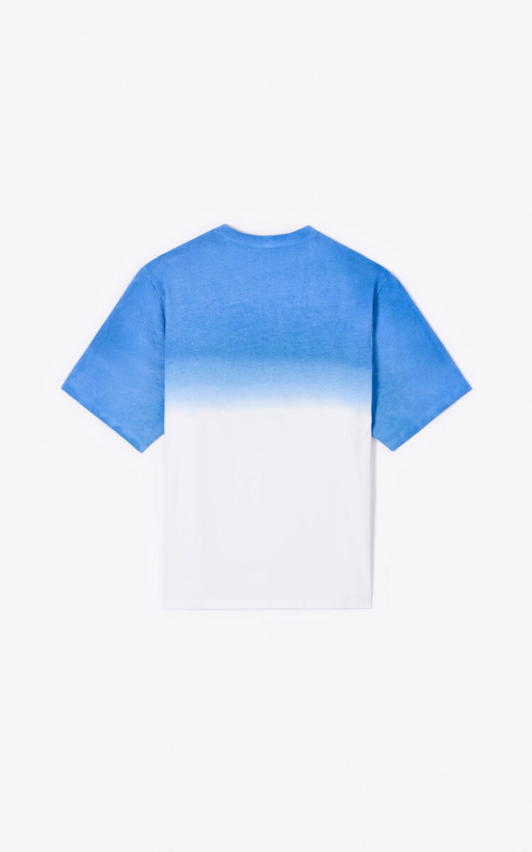 LAVENDER Tiger gradient t-shirt  for men KENZO