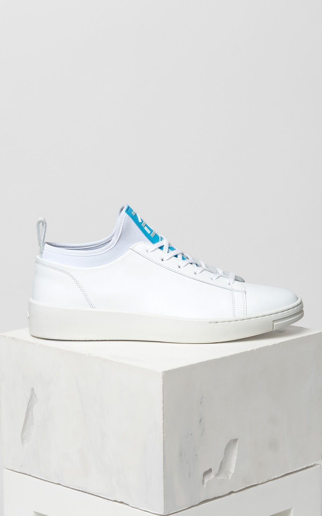 Kenzo K-City - Baskets en cuir - blanc  Baskets