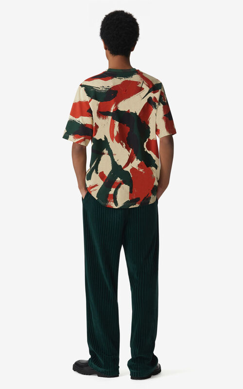 PAPRIKA 'Brushed Camo' T-shirt for women KENZO
