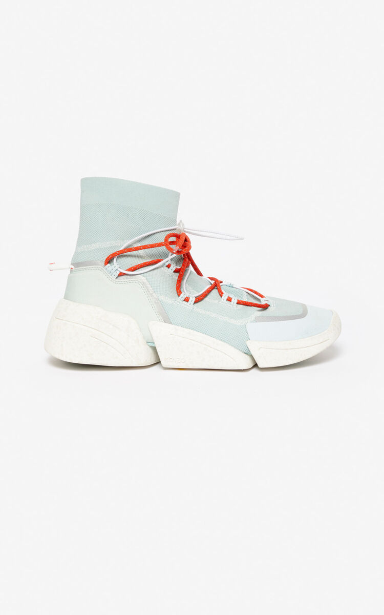 LIME TEA K-Sock sneakers for unisex KENZO