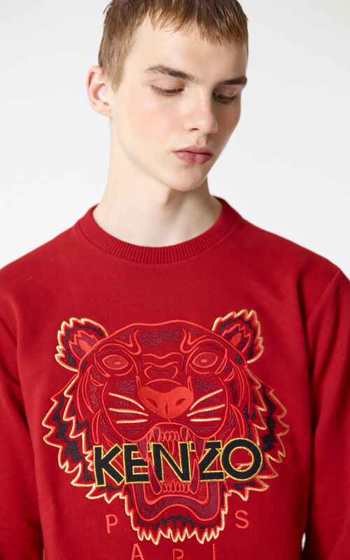 CHERRY 'Chinese NY Capsule Collection' Tiger Sweatshirt for men KENZO