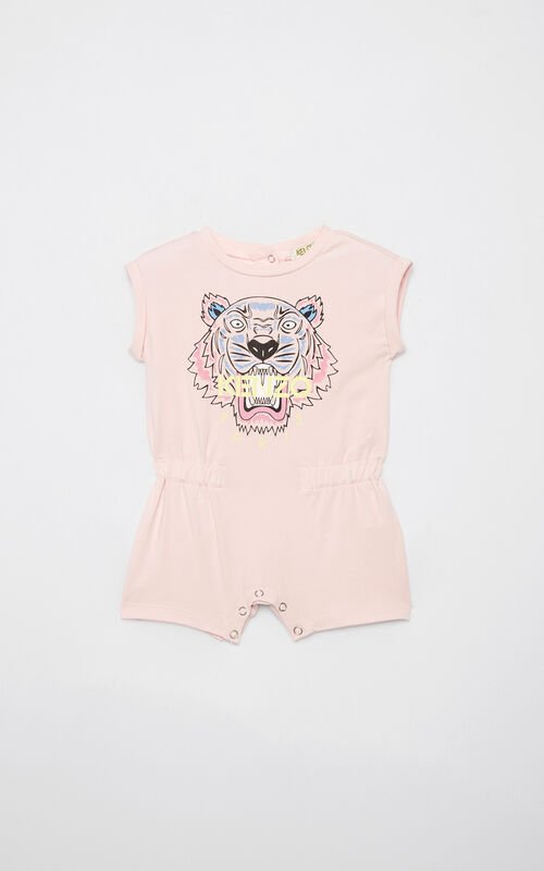 PASTEL PINK Tiger playsuit for men KENZO