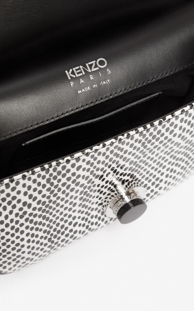 BLACK Mini TALI crossbody bag for unisex KENZO