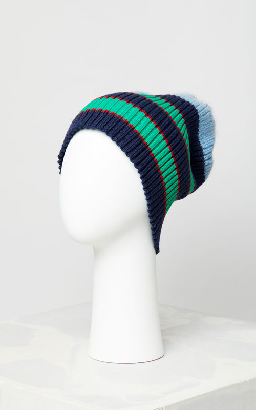 SKY BLUE Striped hat for unisex KENZO