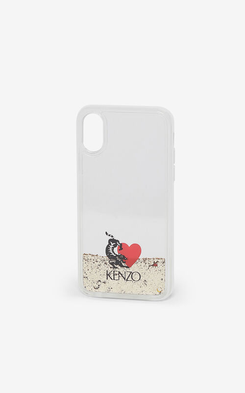 TRANSPARENT iPhone X/XS Pro case for women KENZO